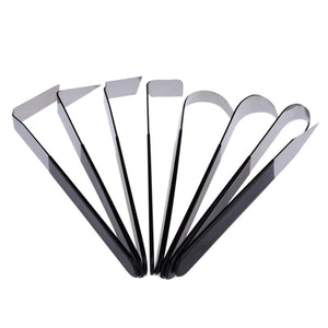 Stainless Steel Pottery Carving set - 8 pieces/set - Almost Artist