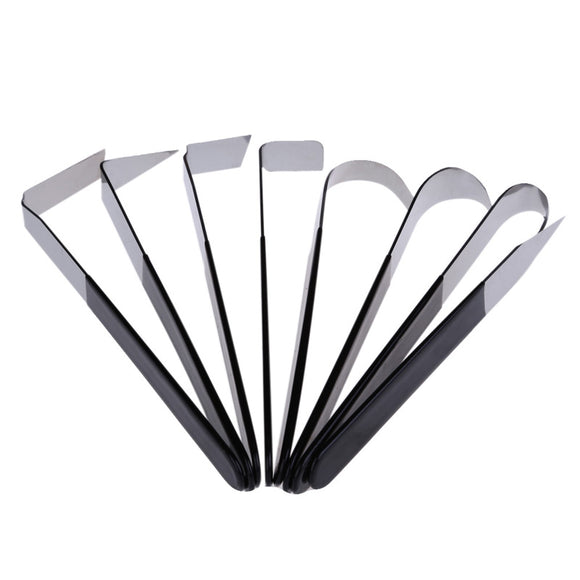Stainless Steel Pottery Carving set - 8 pieces/set