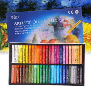 Oil Pastels Set - 50 Colors/Set - Almost Artist