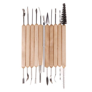 Clay Sculpting Kit - 11 Tools/set - Almost Artist