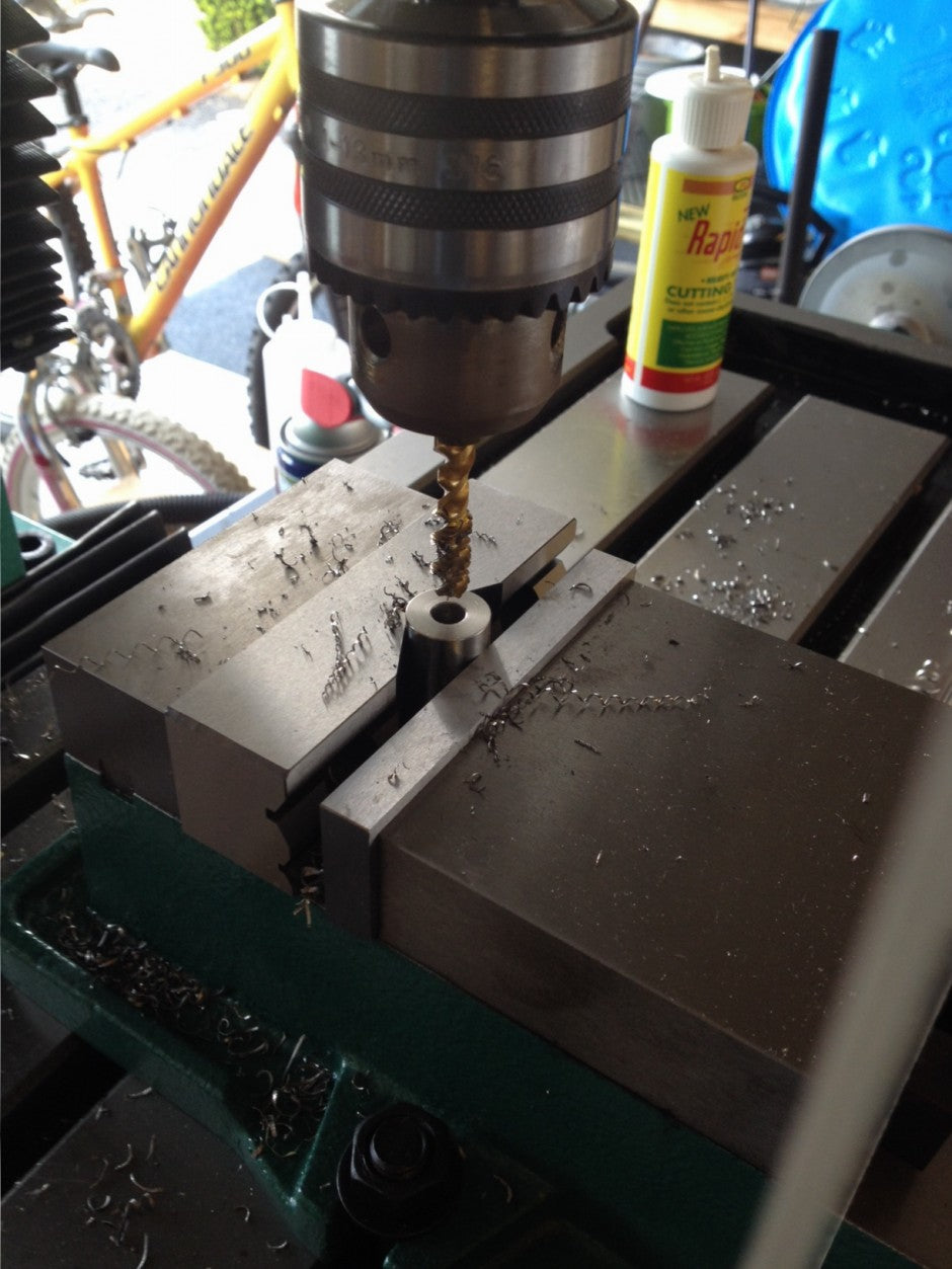 Check Out Our New Mill Drill! Now We Can Make You Custom Thread