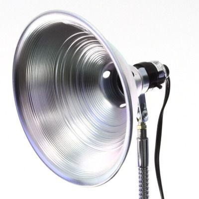 "8-1/2"" 100 Watt Reflector Lamp for attaching to SnakeClamp brand flexible gooseneck arms"