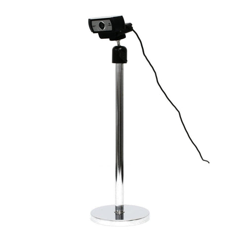 SnakeClamp rigid arm webcam stand with magnet base