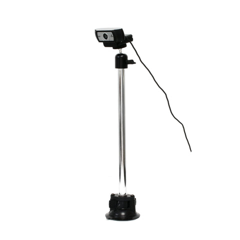 SnakeClamp Rigid Arm Webcam Stand with Suction Cup