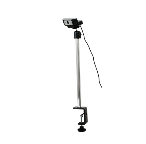 SnakeClamp Rigid Arm Webcam Stand with Table Clamp