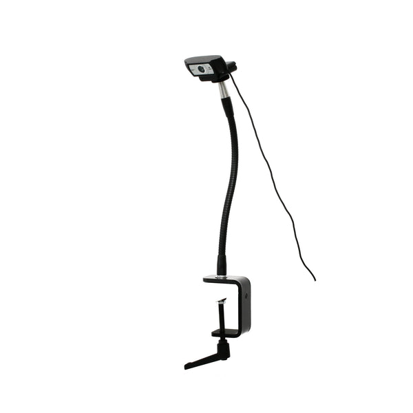 "SnakeClamp 13"" Flexible Arm Webcam Stand with Megaclamp"