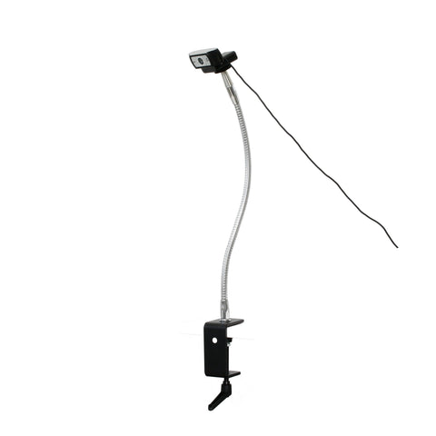 "SnakeClamp 18"" Light-Duty Flexible Arm Webcam Stand with Megaclamp"