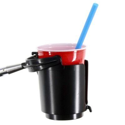 Cup and Drink Holder ideal for wheelchairs, strollers, bedrails, etc.