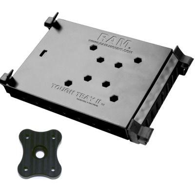 Ram-Mount Tough Tray 2 includes AMPS adapter for attaching to SnakeClamp flexible gooseneck arms