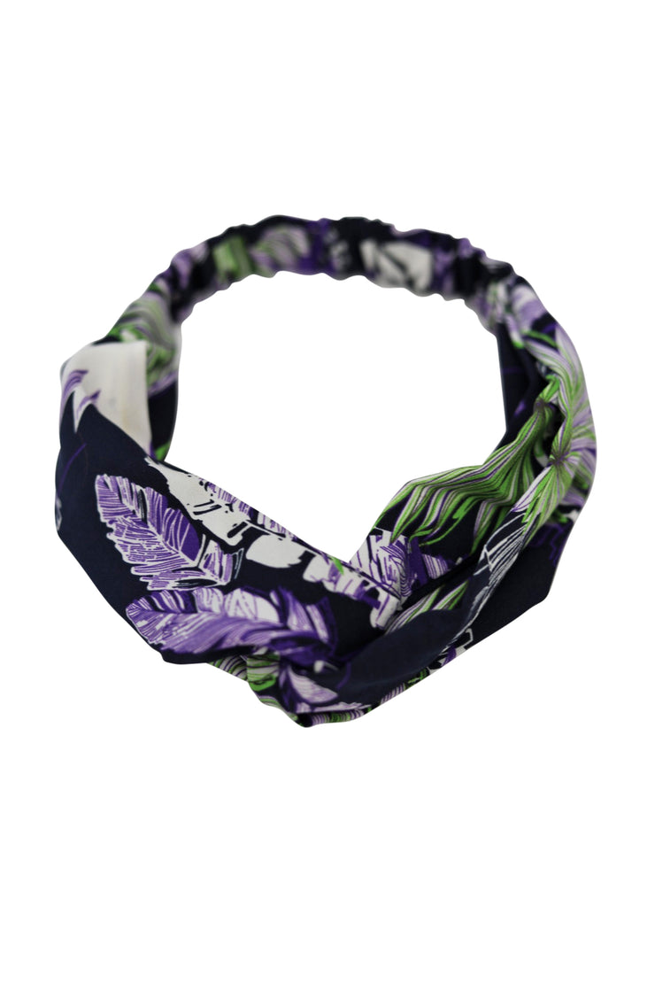 Purple Print Headband