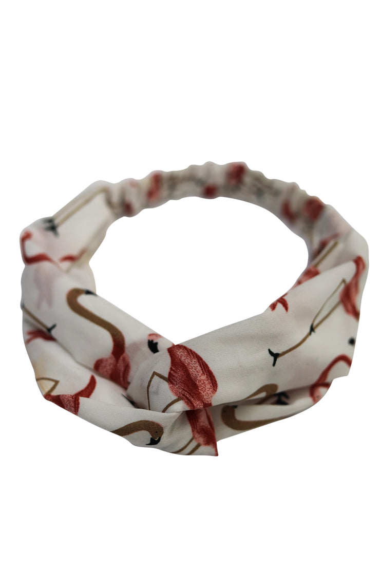 Flamingo Print Headband