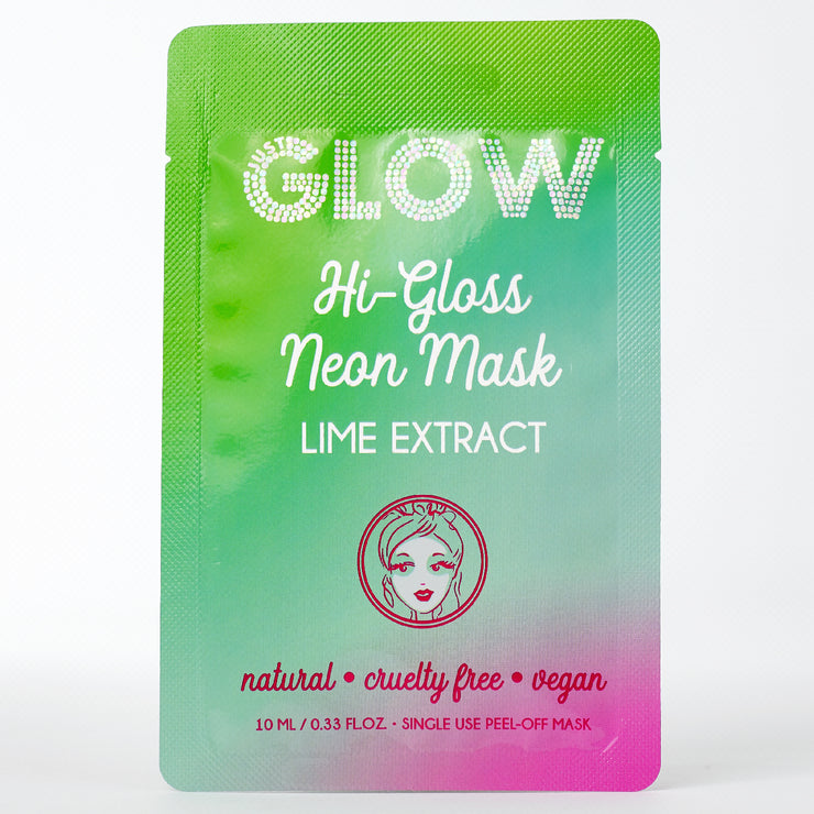 HI-GLOSS NEON MASK: LIME EXTRACT