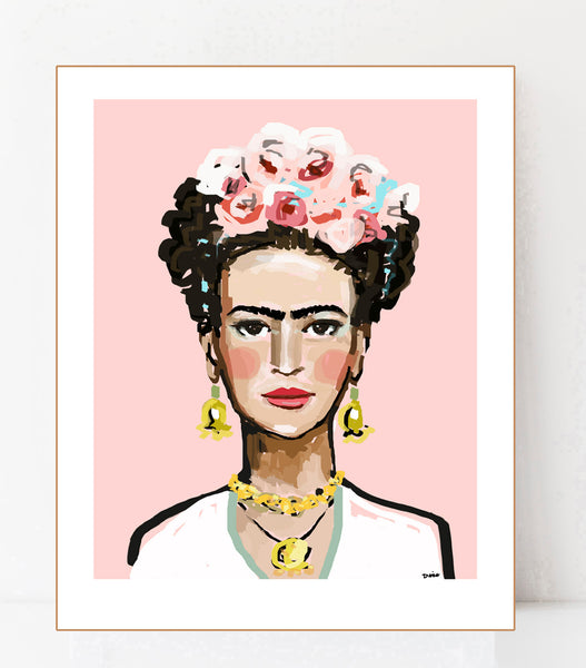 Frida Pink, Prints on paper or canvas