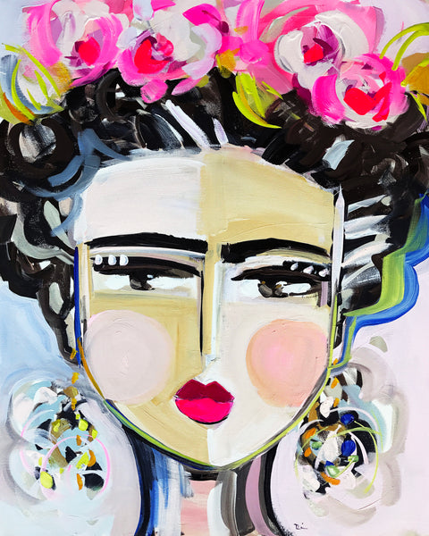 Copy of Frida Pink, Prints on paper or canvas