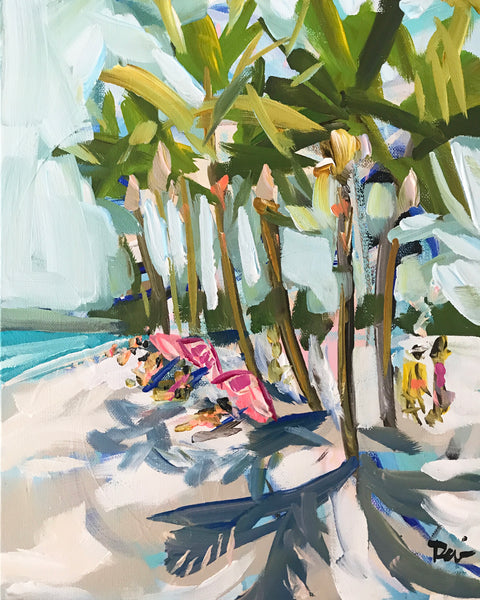 "Key West Print on Paper or Canvas, ""Key West Beach"""