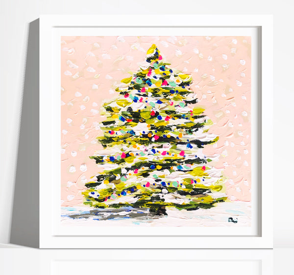 Christmas Print on Paper or Canvas
