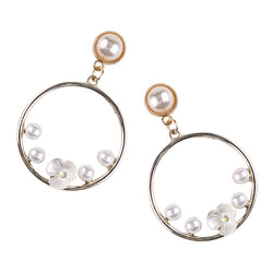 Femme Amor Pearl Earrings