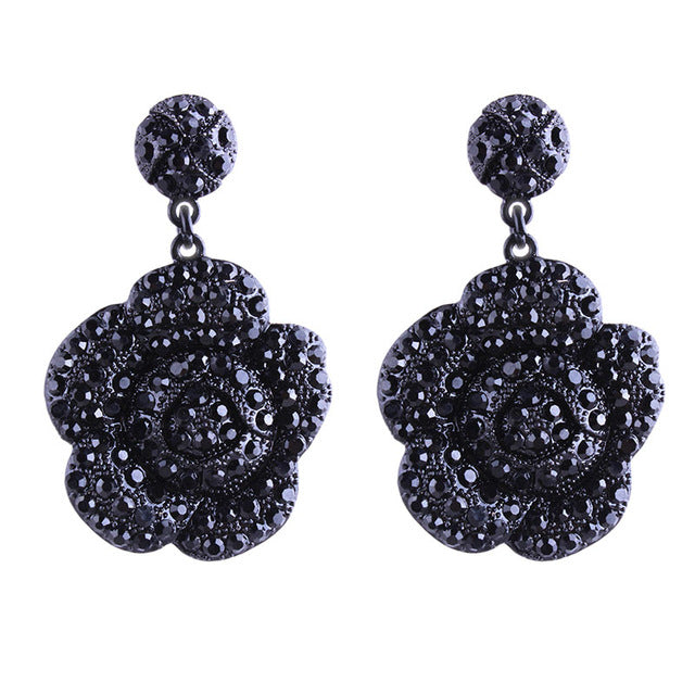 Faithful Rhinestone Earrings
