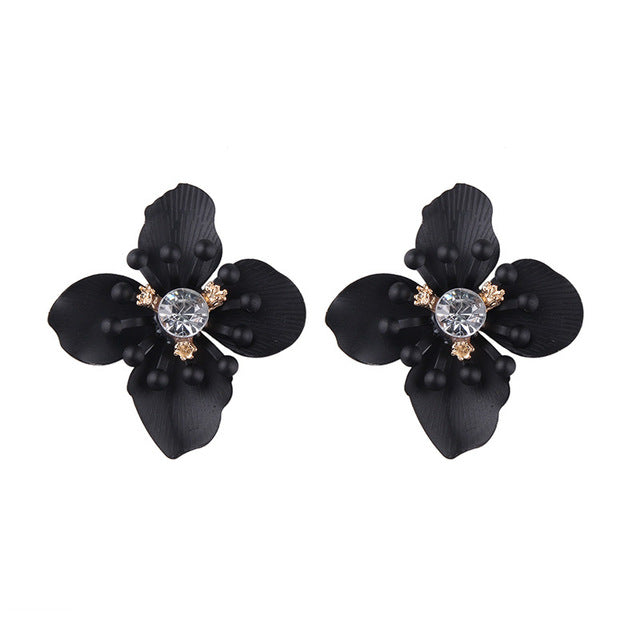 Signature Floral Statement Earrings