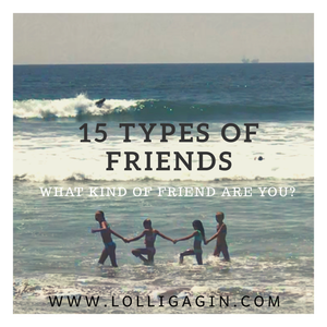 15 Types of Friends