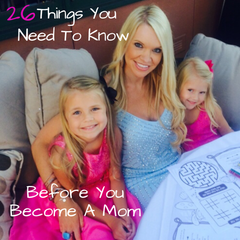 Ok...so there are a ton of books and articles out there that discuss the science behind having a child, and the thoughts and feelings you might have after. But let's be real, NONE of those fully prepare you for what's REALLY coming!  Here are 26 things that will help prepare you for Motherhood...click on https://lolligagin.com/blogs/lolligagin