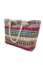 Load image into Gallery viewer, Bohemian Print Tote Bag