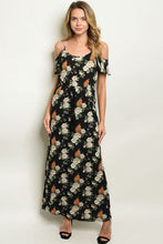 Load image into Gallery viewer, Cold Shoulder Maxi Dress
