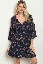 Load image into Gallery viewer, Floral Tunic Dress