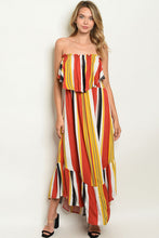 Load image into Gallery viewer, Strapless Maxi Dress
