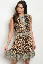 Load image into Gallery viewer, Leopard Print dress