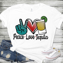 Load image into Gallery viewer, Peace Love Tequila