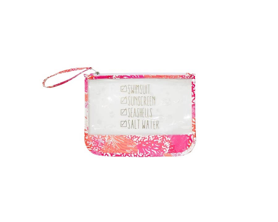 Bathing Suit Carrier - Coral Reef