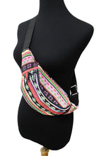 Load image into Gallery viewer, Aztec Tribal Fanny Pack