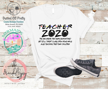 Load image into Gallery viewer, Teacher 2020 T-shirt