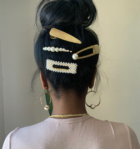 Ms Pearly Hair Clip