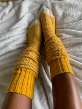 Honeysuckle Cozy Socks