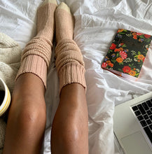 Rose Gold Cozy Socks