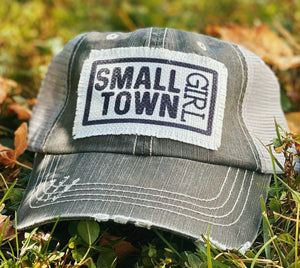 Small Town Girl Patch Trucker Hat