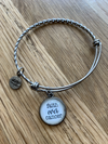 NLH (Never Lose Hope) Silver Dangle Bracelets