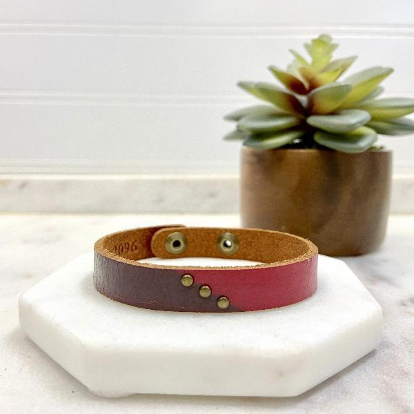 Leather Adjustable Wrap