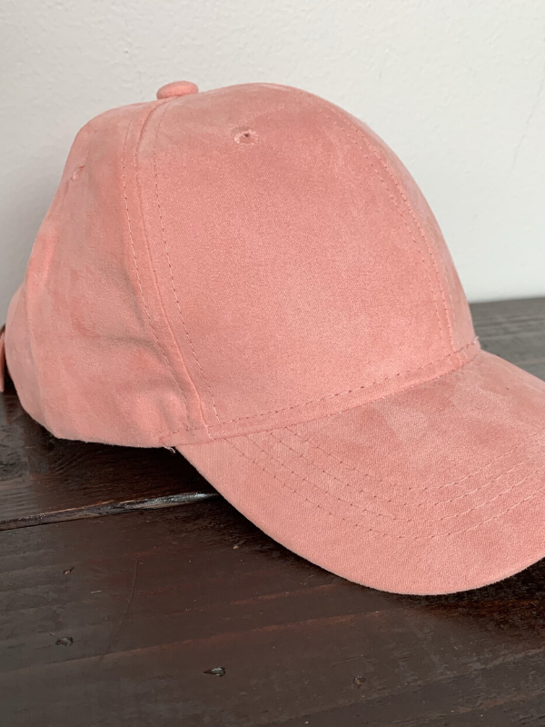 Suede Baseball Hats
