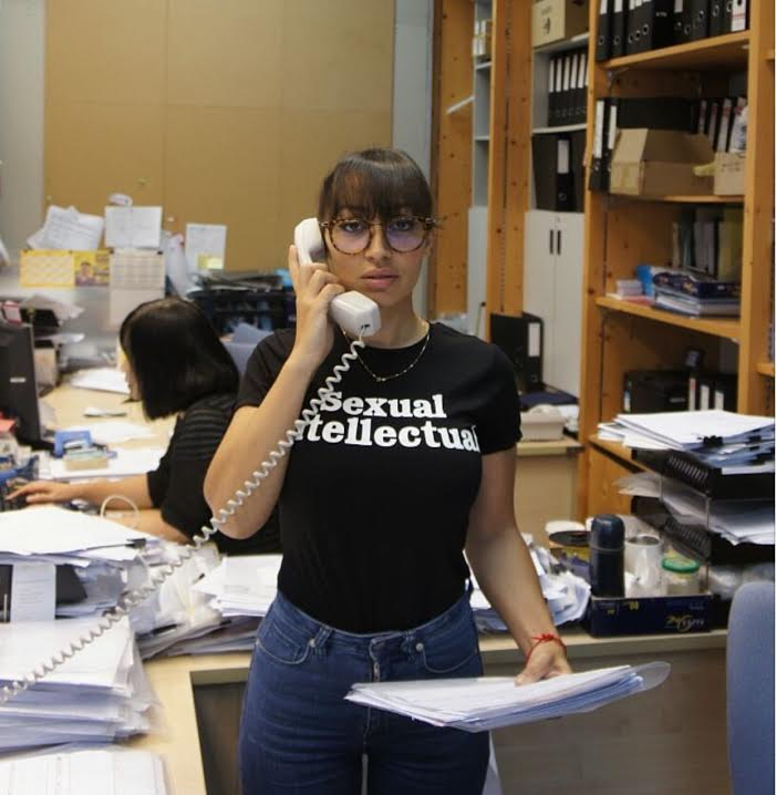 Sexual Intellectual Tee (Black) - L'école Des Femmes