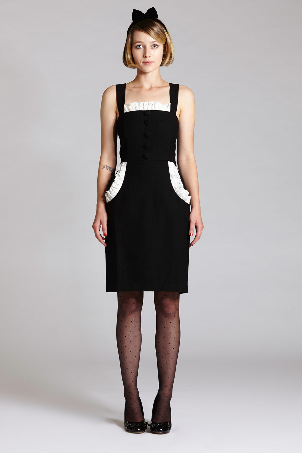 French Maid Strap Dress - L'école Des Femmes
