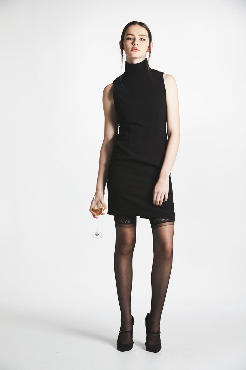 Basic Instinct Dress (Black) - L'école Des Femmes