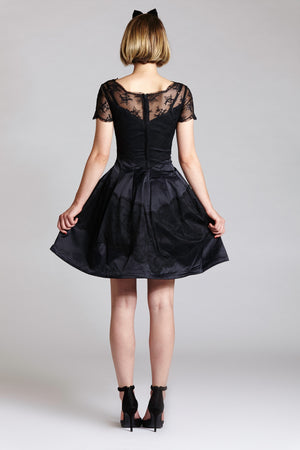 Short Sleeve Audrey Hepburn Dress