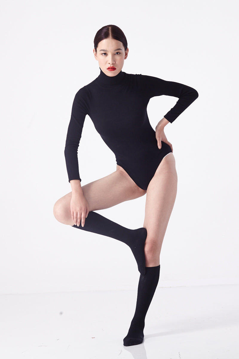 Le Spy Bodysuit (Black)