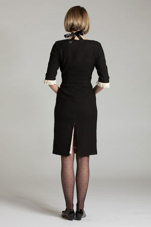 The Square Neck French Maid Dress - L'école Des Femmes