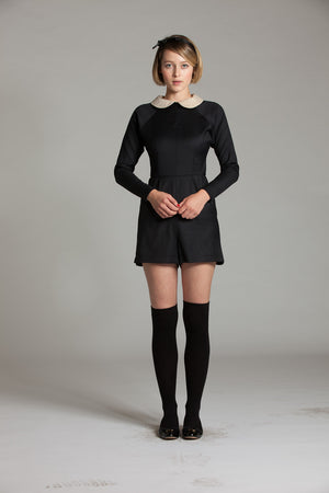Peter Pan Collar Playsuit