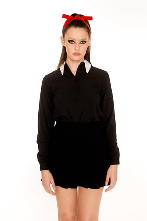 RBG Silk Blouse
