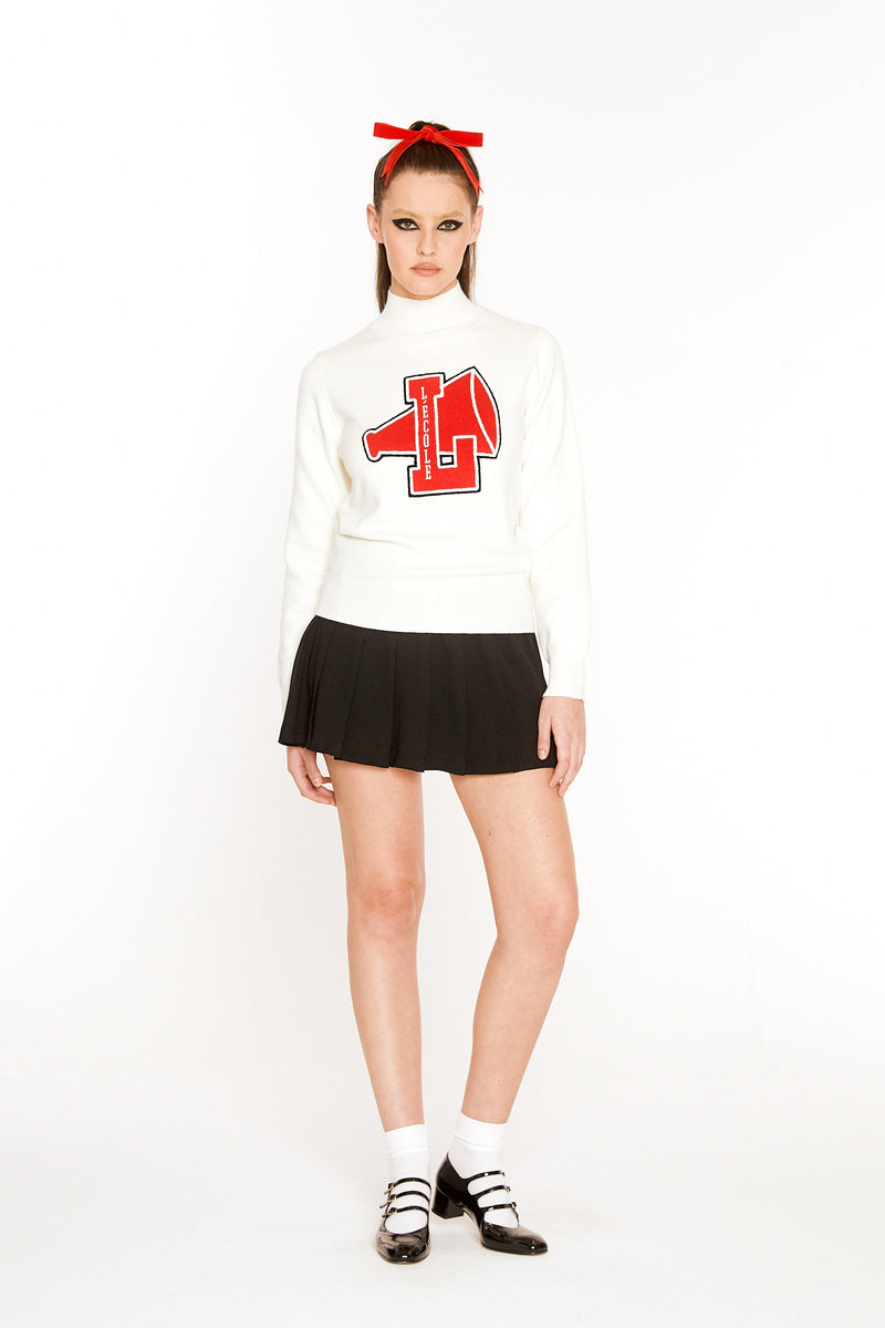 Cheerleader Sweater (Red Logo)